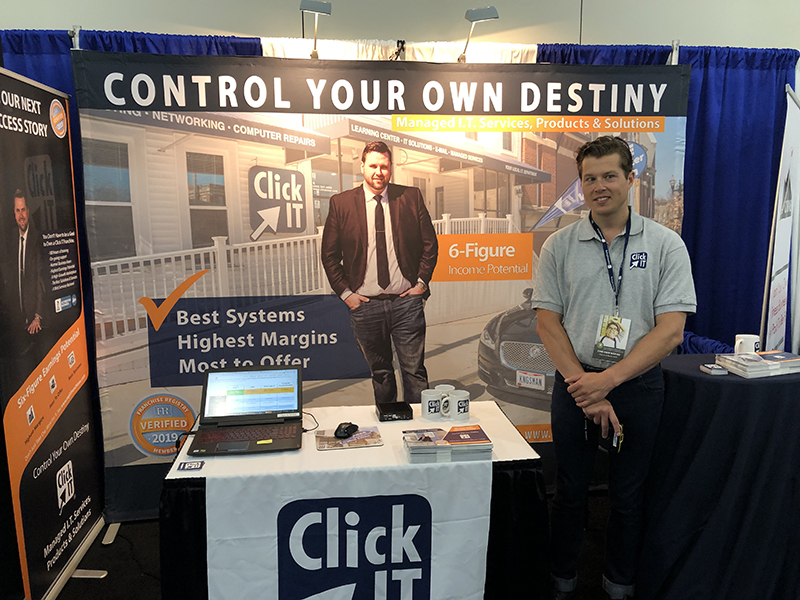 Click IT showed at the International Franchise Expo in New York City.